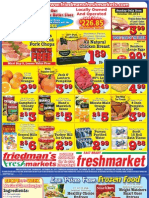 Friedman's Freshmarkets - Weekly Ad - October 20 - October 26, 2011
