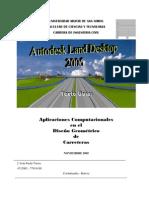 Texto Guia Autodesk Land Desktop