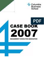 Case Book Columbia 2007