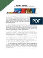 Declaración Colectivo Paulo Freire - Junio 2011