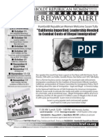 HRWF October 2011 Redwood Alert