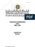 Aerospace Engineering Lab 1 Sem2 0809