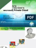 Saving Money Using Private Cloud - TechDays