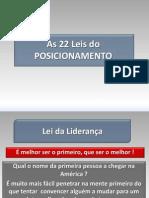 As Leis Do Marketing Alriesejacktrout Posicionamento 110330131426 Phpapp02