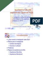 Arquitectura de Sistemas Operativos