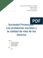 Ensayo de Historia Sociedad Finisecular(1)