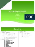 Burlando Proteções - Slide Final