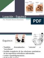 Luxación - Esguince