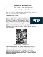 Historia del Monumento de la Libertad en Trujillo