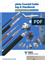 Coax Catalog - Times Microwave System
