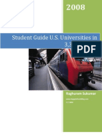 Student Guide To U.S. Universities