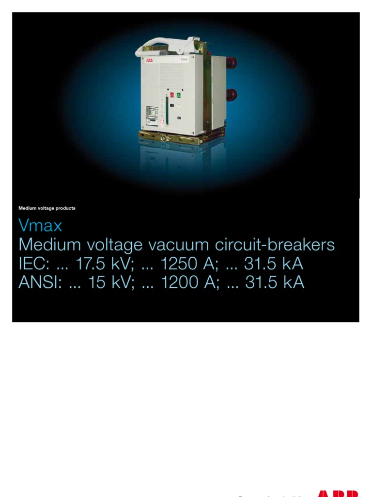 Abb Circuit Breaker-literature | Electric Arc | Electric Current on