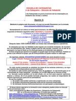 00 Escuela de Catequistas Hoja Informativa