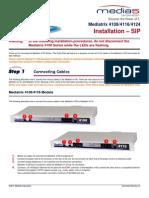 Meditrix 4124 Installation Guide