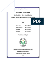 Tugas Makalah Praktikum Biologi Sel Dan Molekuler