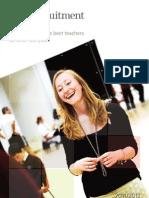 TES Recruitment Brochure 2011 2012
