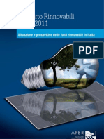 rapporto rinnovabili APER 2010-2011