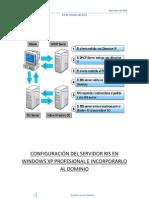 Configuracion Del Servidor RIS Para Instalar XP