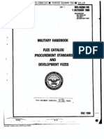 MIL HDBK 145, Fuze Catalog