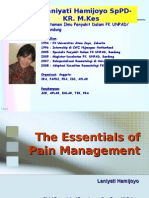 The Essentials of Pain Management