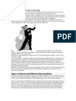History of Ballroom Dancing