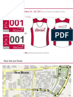 Singlet and Route Map