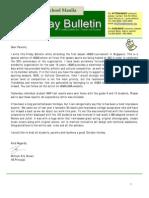 HS Friday Bulletin 10-21