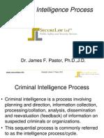 Criminal Intelligence Process