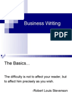 Business Writing 1