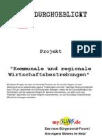 """Durchgeblickt - Projekt """"Kommunale und Regionale Wirtschaft"""""""