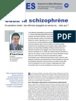 Cuba la schizophrène - Note d'analyse Géopolitiques n°39