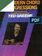 Ted Greene - Modern Chord Progressions