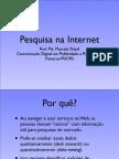 Pesquisa na Internet