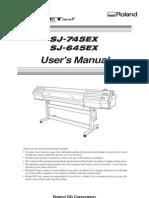 Users Manual SJ 745 645