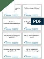 Vårdvenska question cards_Swedish