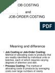 13. Job Costing