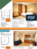 1 Room Apartments