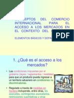 3 Conceptos Del Comercio Internacional Gatt Omc