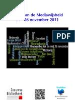 Programma Week van de Mediawijsheid 2011