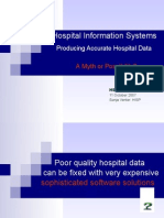 Hospital Information Systems 10 Oct