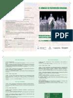 Diptico IV Jornadas Participacion Ciudadana