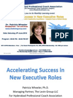 05 June 2010 - Accelerating Success in the New Executive Roles - Patricia Wheeler