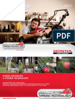 Honda Domestic Range Brochure