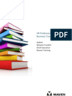 HR Professionals Guide to Business Transformation White Paper