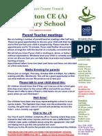 Appleton School Newsletter - 20th October 2011