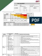 Risk Assessment for Shore Protection
