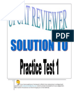 33053073 Solution UPCAT Practice Test 1