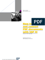 How to Conver PDF Doc in Xi
