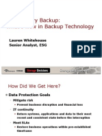 21st Century Backup What's New in Backup Technology