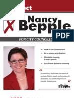 Re-Elect Nancy Bepple